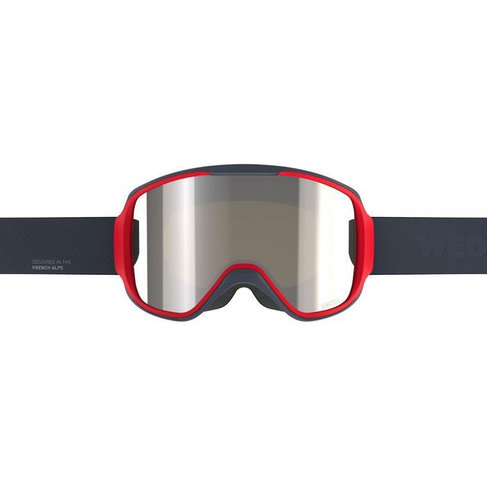 Skibrille Snowboardbrille G 500 I Allwetter Erwachsene/Kinder blau