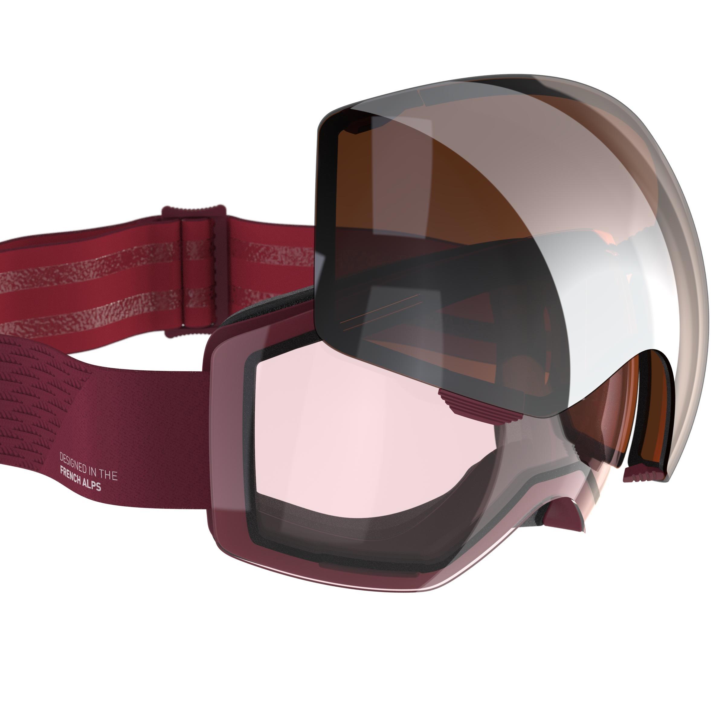 Ochelari Schi G 900 I Roșu imagine