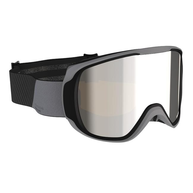 Children's And Adult's Skiing and Snowboarding Goggles G500 I All Weather Black
