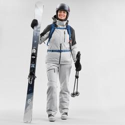 Veste de ski Freeride femme JKT SKI FR100 F Grise