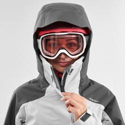 Women's Freeride SKI JACKET FR100 - Grey