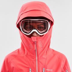 Skijacke Freeride 500 Damen rosa