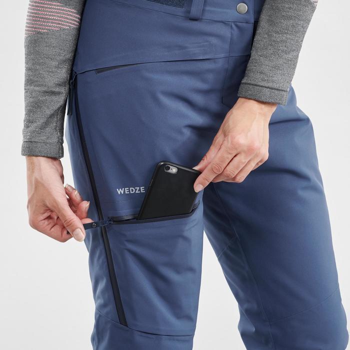 Pantalon de ski Freeride Femme FR500 Bleu