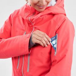 Ski-jas voor dames Freeride FR500 roze