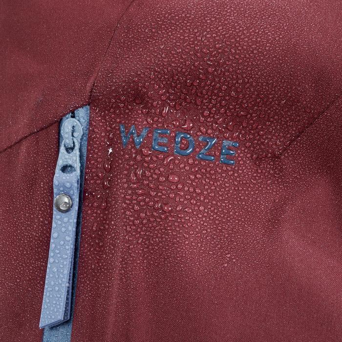 Ski-jas voor freeride dames JKT SKI FR500 Bordeaux