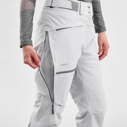 Skibroek voor dames Freeride FR500 grijs