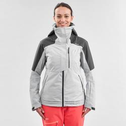 abrigo Chaqueta esquí y nieve wed'ze FR100 Mujer Gris