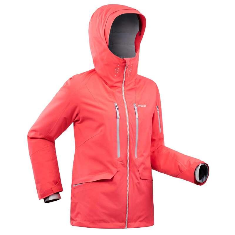 WOMAN'S FREERIDE SKIING CLOTHING Clothing - W SKI JACKET FR500 - Pink WEDZE - Jackets and Coats