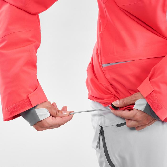 Winterjas waterdichte ski jas voor dames FR500 roze