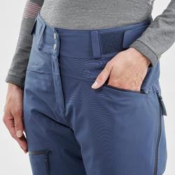 Pantalon de ski tout-terrain Femme FR500 Bleu