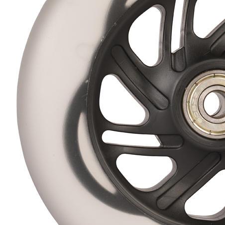 Flashing Wheel 125 mm - Black