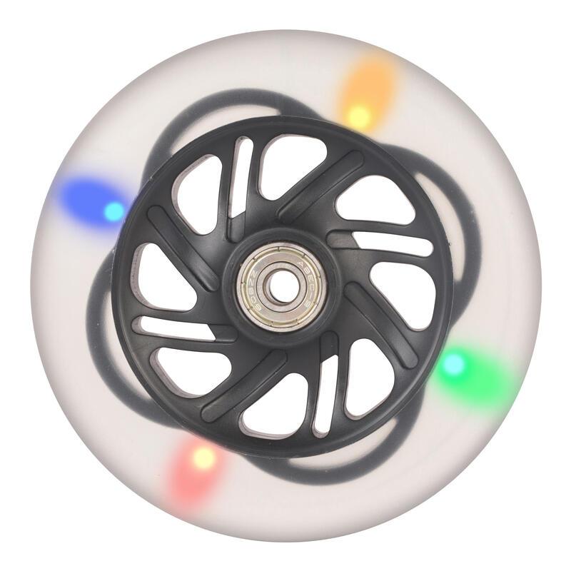 Ruote luminose FLASHING WHEEL nere 125 mm