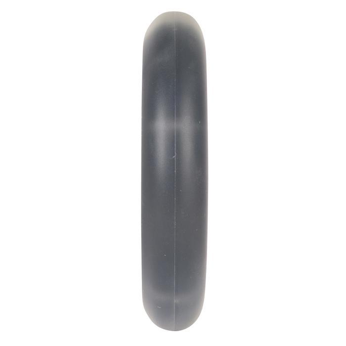 Wiel met lichtjes voor kinderstep 125 mm zwart