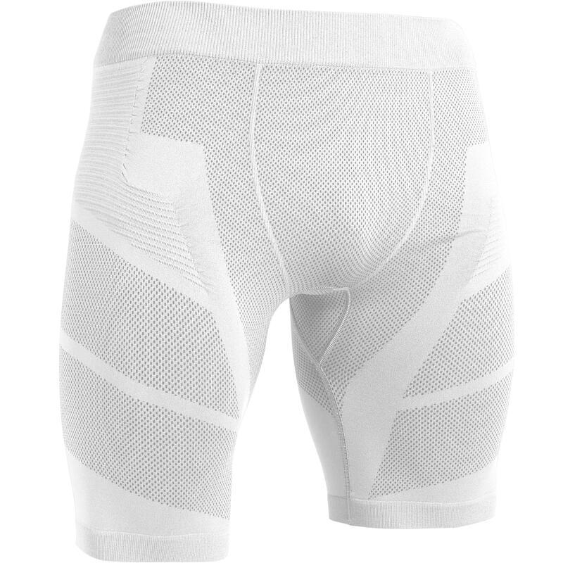 Pánské fotbalové spodní kraťasy Keepdry 500 bílé