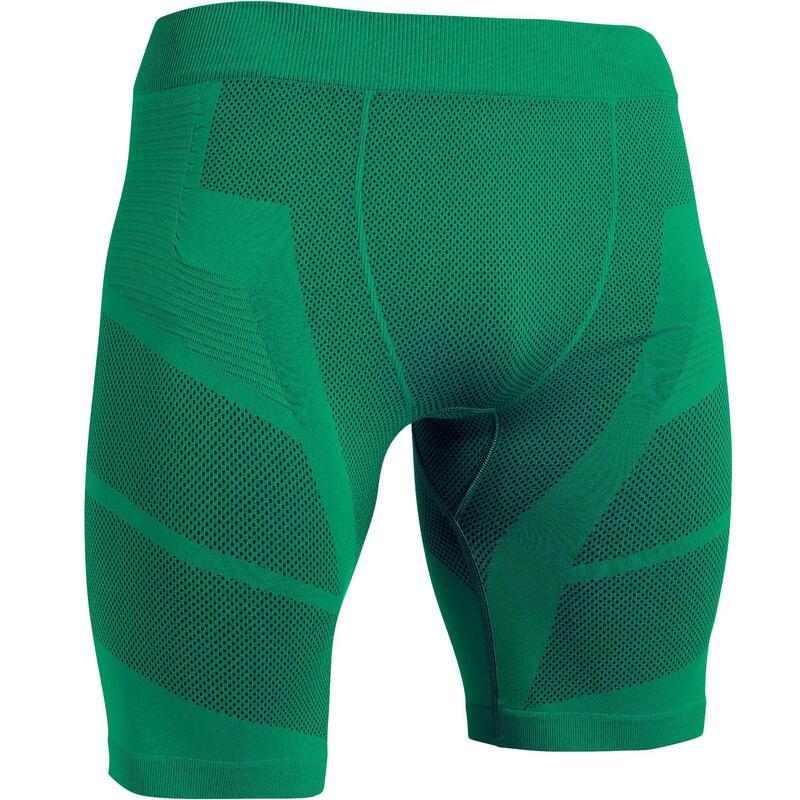 Pánské fotbalové spodní kraťasy Keepdry 500 zelené