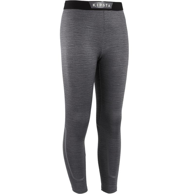 Pantaloni termici bambino KEEPDRY 100 grigi