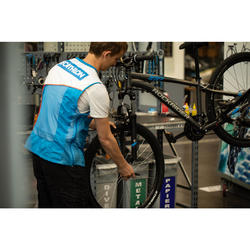 Vorbereitung Montage neues Fahrrad