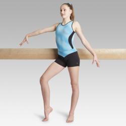 Short vert 500 gymnastique artistique féminine