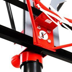 Basketbalpaal kinderen/volwassenen B100 Easy - zonder gereedschap verstelbaar