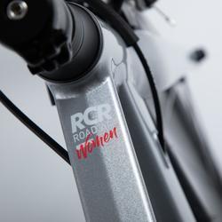 Racefiets / wielrenfiets Dames Ultra RCR AF Shimano Tiagra wit/grijs