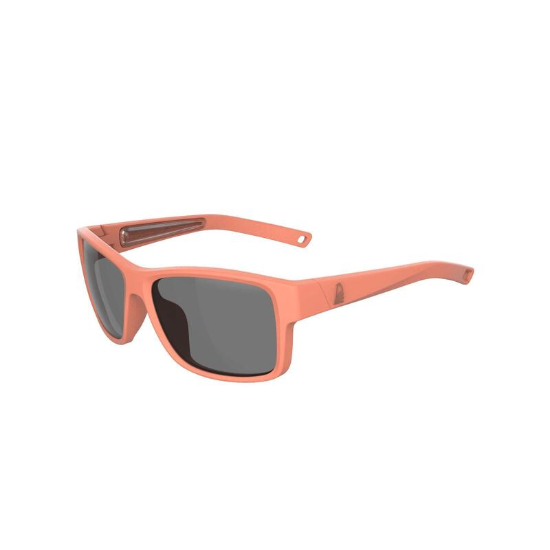 Sailing floating sunglasses with polarised lenses SAILING 100 Size S Coral