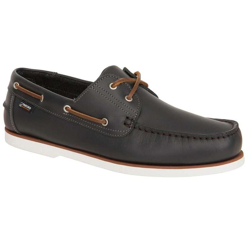 Férfi vitorlás cipő Vitorlázás, hajózás, dingi - Vitorláscipő 500-as TRIBORD - Férfi vitorlás ruházat, cipő