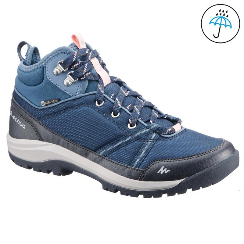 Chaussures de randonnée imperméables- NH150 Mid WP - Femme