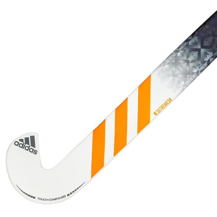 Hockeystick voor expert volwassenen LB 90% carbon DF24 oranje