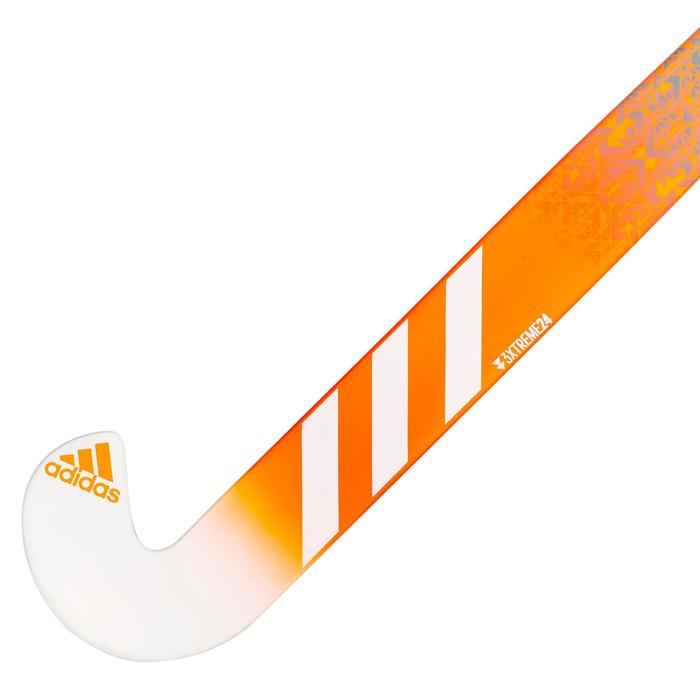 Veldhockeystick voor ervaren kinderen fiberglass DF24 Compo6 oranje