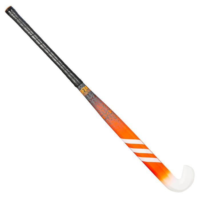 Stick de hockey sur gazon enfant confirmé fiberglass DF24 Compo6 orange
