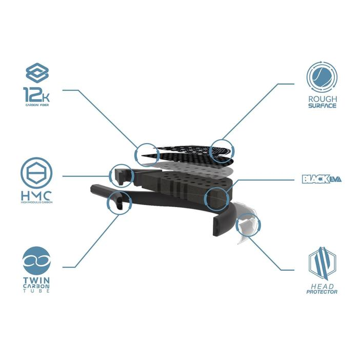 Padel Racket PR990 Power Hard