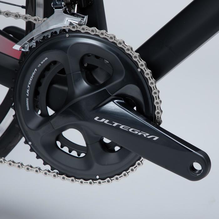 Racefiets / Wielrenfiets dames Ultra RCR Carbon Frame Ultegra DI2 zwart