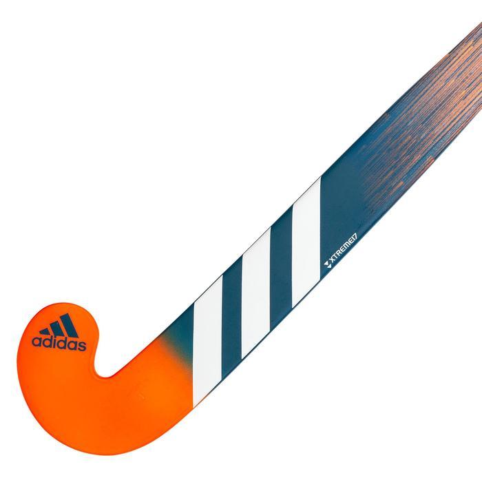 Veldhockeystick voor kinderen beginners hout K17King Koraal
