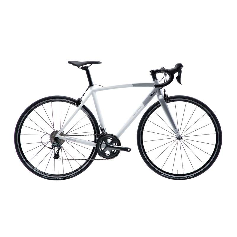 DÁMSKÁ SILNIČNÍ KOLA Cyklistika - SILNIČNÍ KOLO ULTRA AF BÍLÉ  VAN RYSEL - Kola