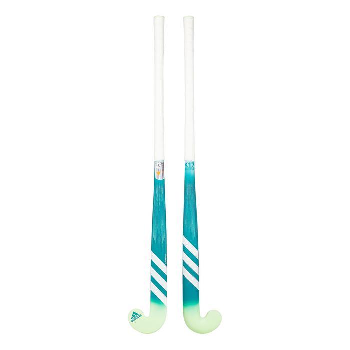 Hockeystick voor kinderen beginner hout K17Queen turkoois