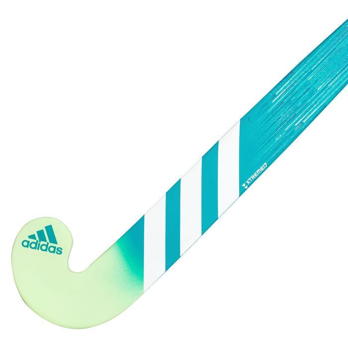 Stick de hockey sur gazon enfant débutant bois K17Queen Turquoise