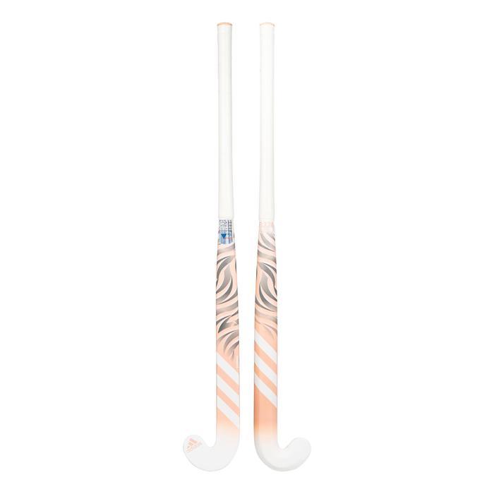 Stick de hockey sur gazon enfant confirmé fiberglass FLX24 Compo6 corail