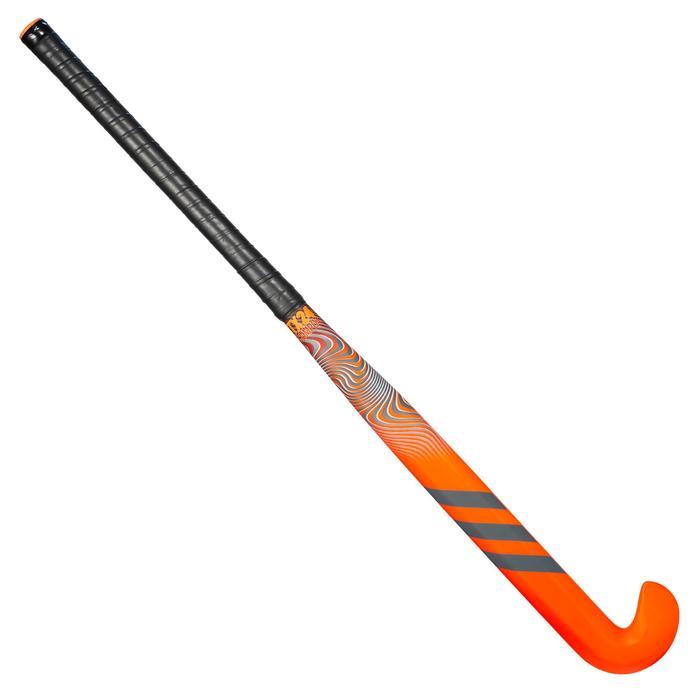 Stick de hockey sur gazon adulte confirmé Xlowbow 20% carbone TX24Compo4 orange