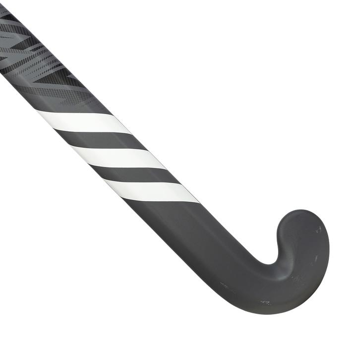 Stick de hockey sur gazon adulte confirmé lowbow 50% carbone LX24Compo2 noir