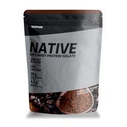 Native whey-eiwit chocola 900 g