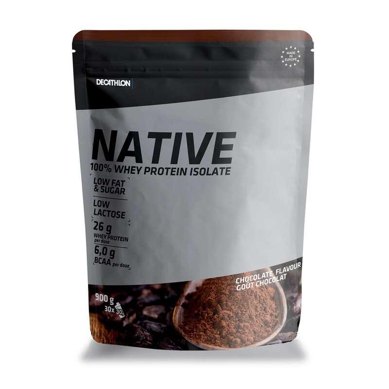 PROTEIN & KOSTTILLSKOTT Kost och Hälsa - PROTEINPULVER NATIVE CHOK900G DOMYOS - Proteinpulver