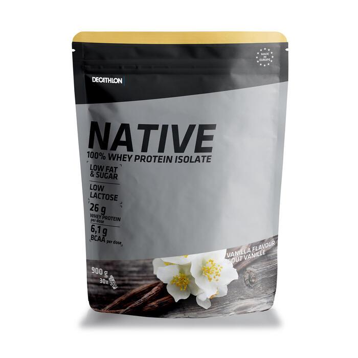 Natives Whey Proteinpulver Vanille 900g