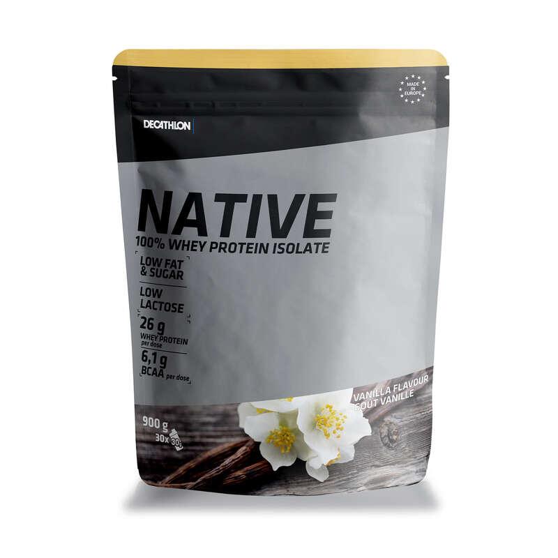 PROTEINE E COMPLEMENTI ALIMENTARI Proteine mantenimento muscolare - Proteine WHEY NATIVE vaniglia DOMYOS - Boutique alimentazione 2019