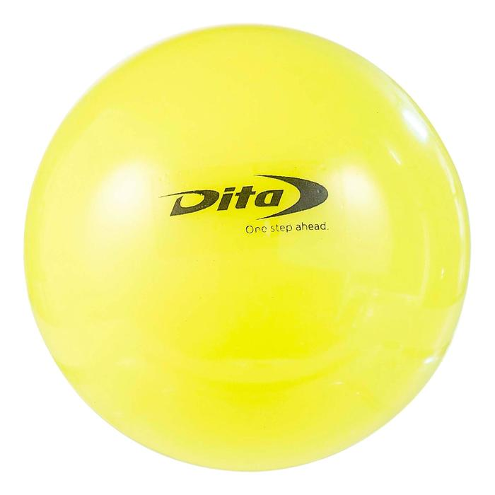 Gladde hockeybal geel