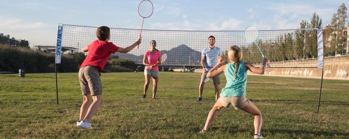 filet de badminton speednet 500