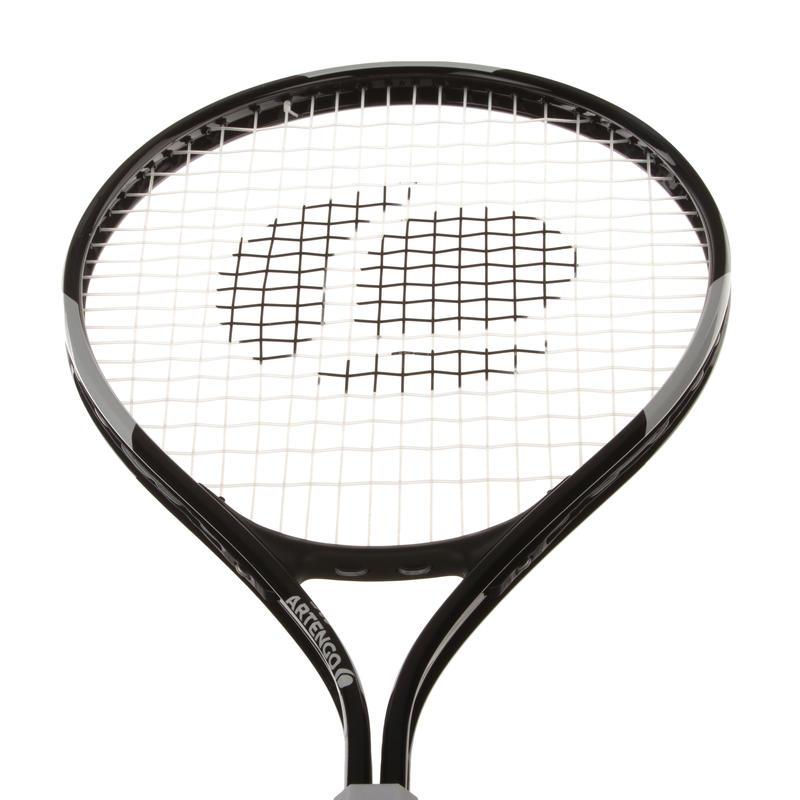 TR100 Adult Tennis Racket - Black