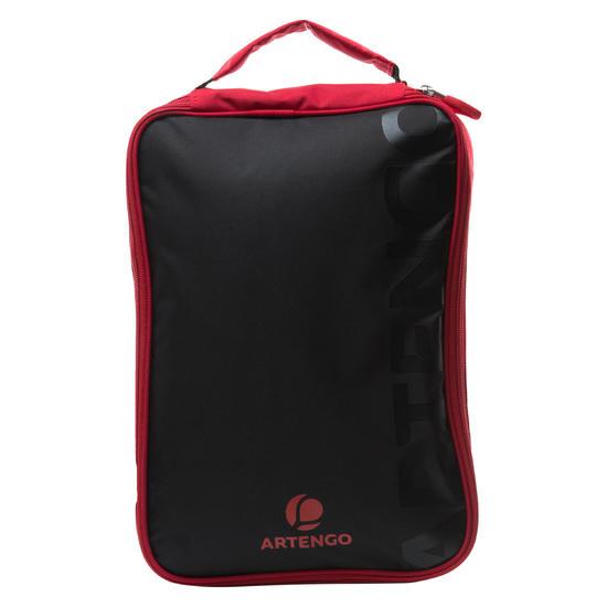 Tafeltennis hoesje FC 990 zwart/rood - 170393