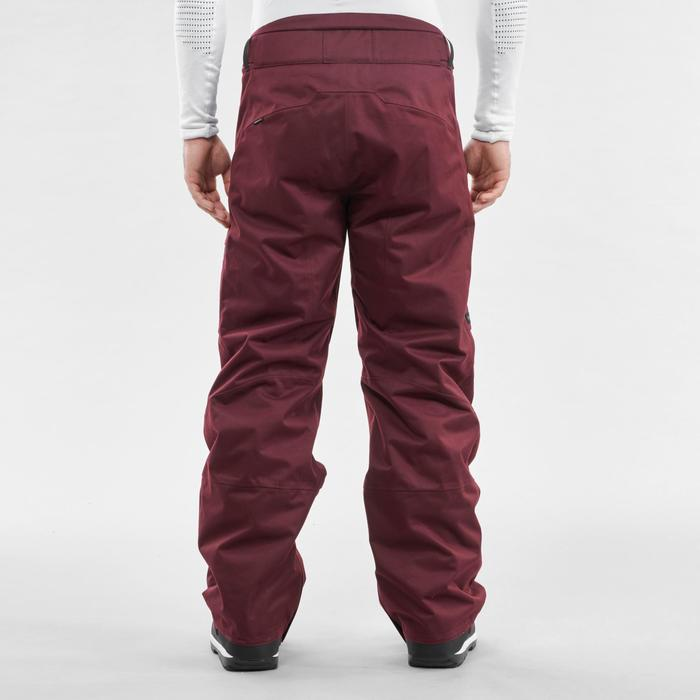 Pantalon de snowboard (et de ski) homme SNB PA 500 Bordeau