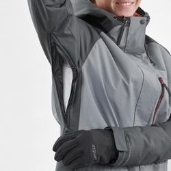 Veste de Snowboard (et de ski) Femme SNB JKT 100 Grise