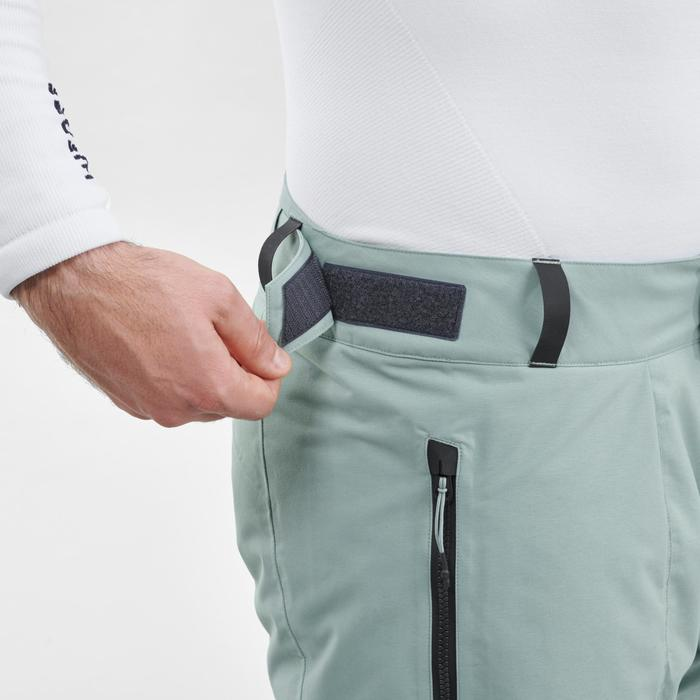 Pantalon de snowboard (et de ski) homme SNB PA 500 vert